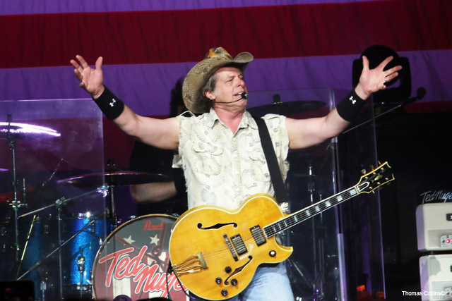 Ted Nugent - Photo by Tom Collins