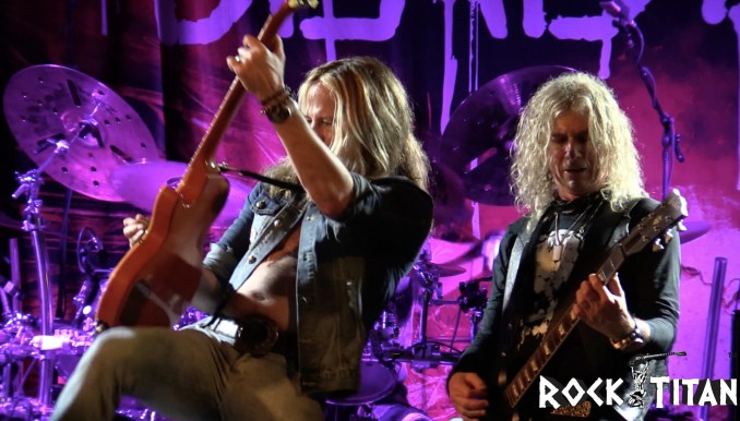 The Dead Daisies - Photo by Rock Titan TV