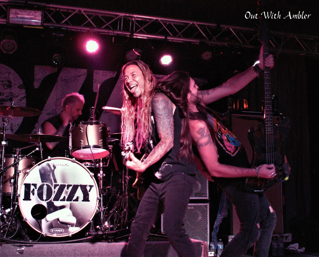 Fozzy - Photo by Out With Ambler - Rock Titan TV