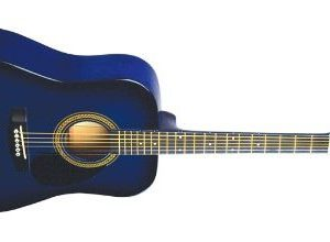 NEW Johnson JG-610-BL-1/2 Acoustic Guitar