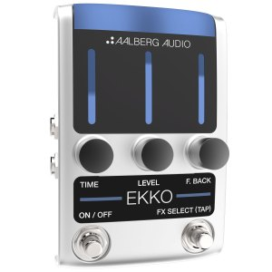 NEW Aalberg Audio (EK-1) EKKO Delay Pedal