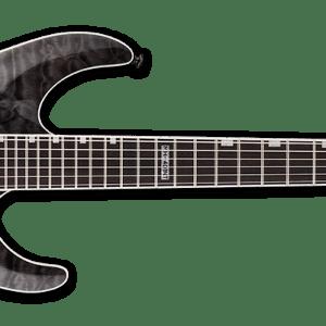 NEW ESP LTD MH-401NT See Thru Black Electric Guitar