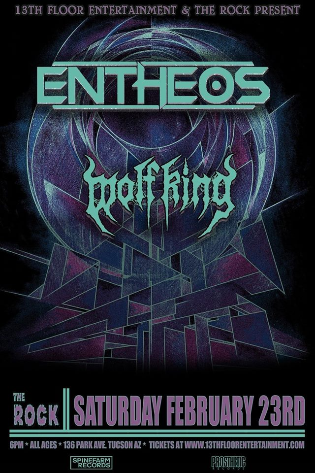 Entheos live at The Rock! https://www.facebook.com/events/303039807013521/