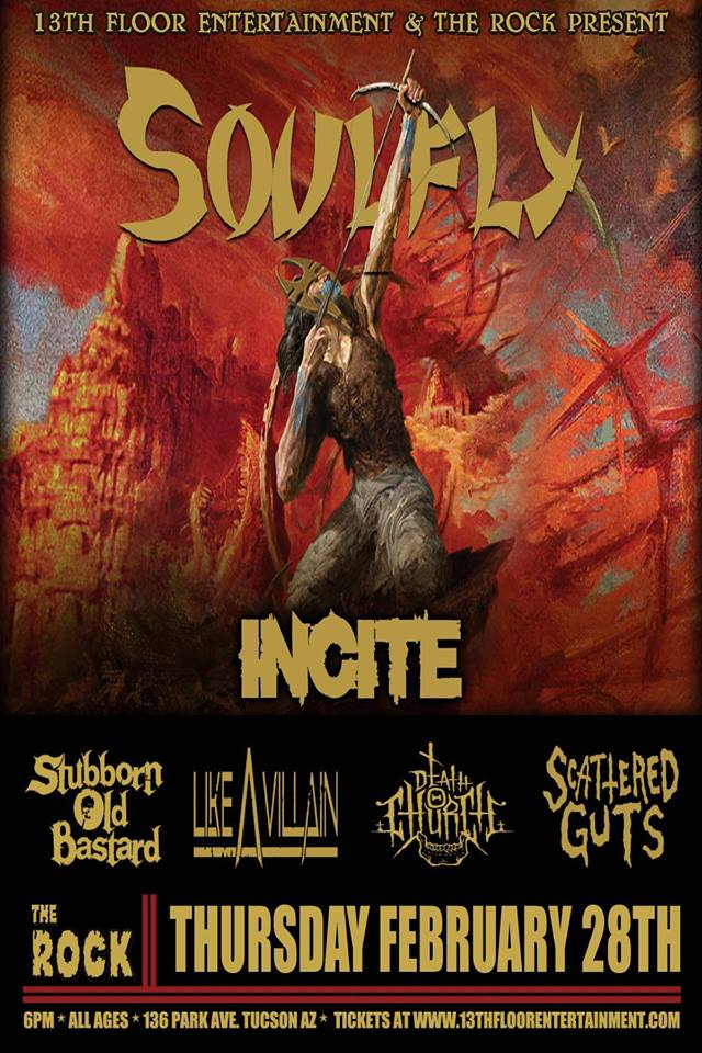Soulfly at the rock