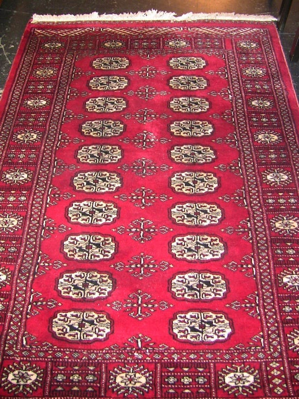Vintage Persian Silk Area Rug Red Amp Cream Rockwell