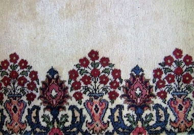 Large Luxurious Persian Tabriz Runner Rug With Cream Red