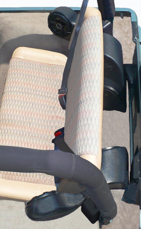 Jeep Speakers Quad Pod Jeep Speaker System