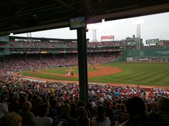 Jays Game at Fenway