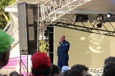 Astronaut Andre Kuipers vertelt over zijn ervaringen in de ruimte