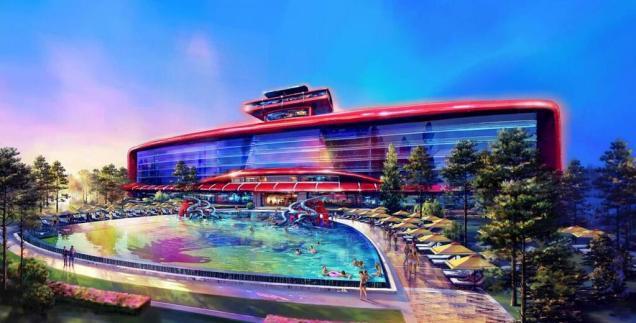 Zwembad Ferrari Hotel