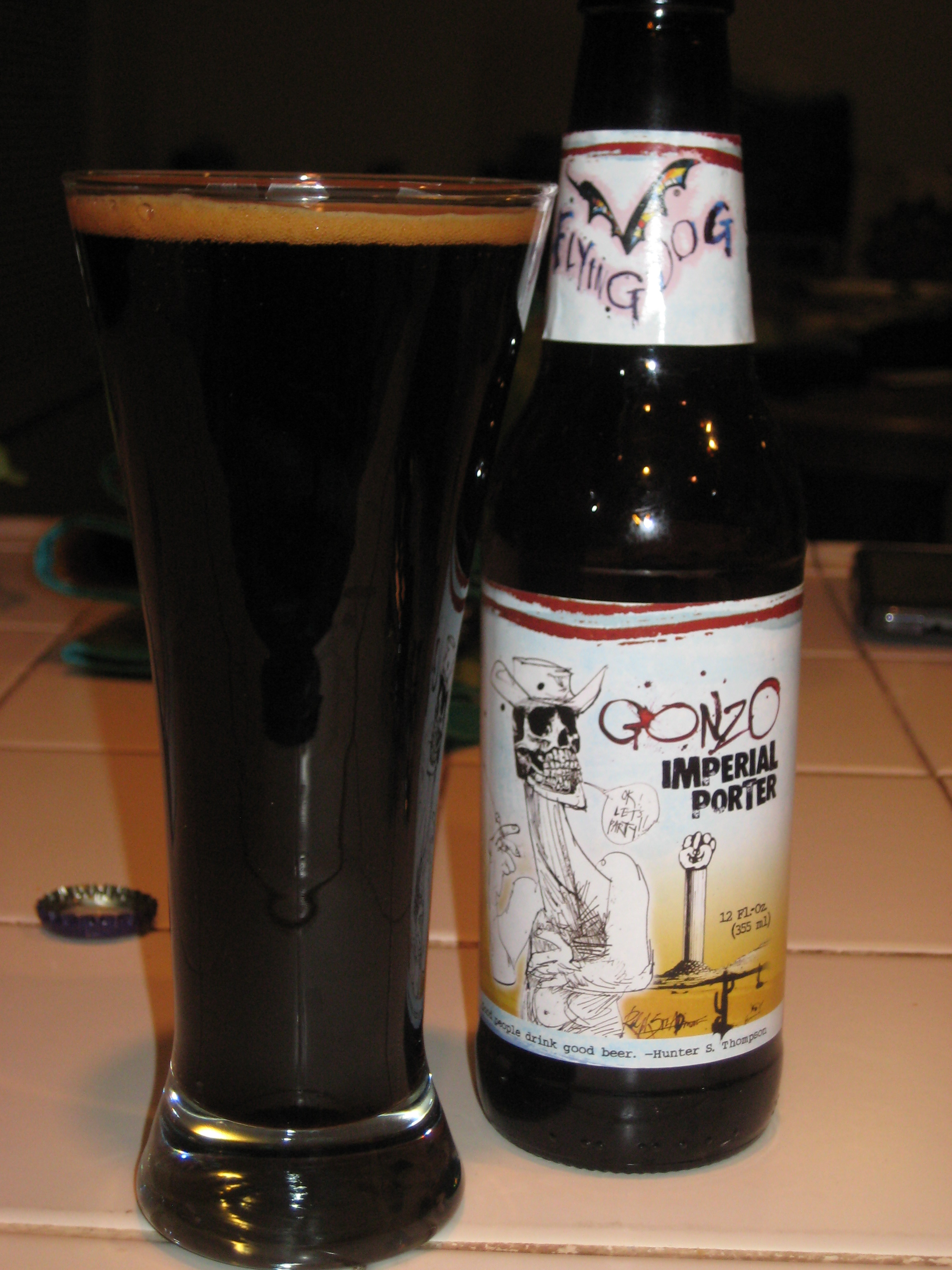Le Meilleur Beer Of The Week 22 Gonzo Imperial Porter • False B Logic Ce Mois Ci