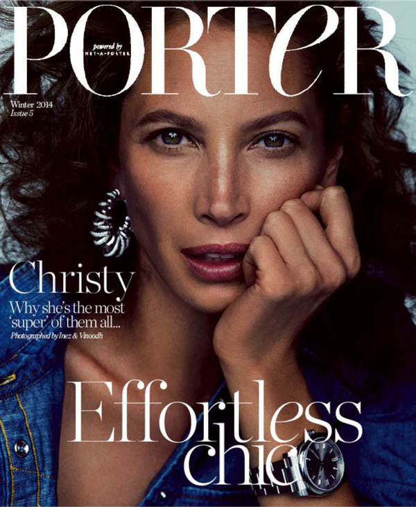Le Meilleur Christy Turlington Lands 2 Covers For Porter Magazine Ce Mois Ci