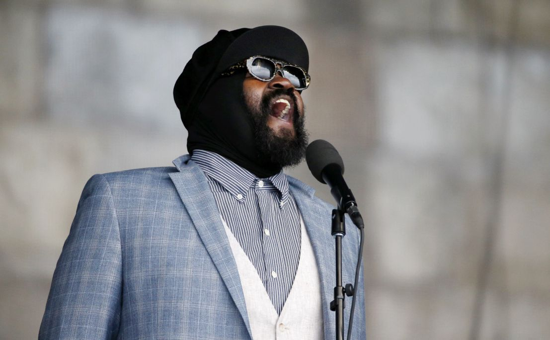 Le Meilleur Jazz Musician Gregory Porter Connects With Crowd At Ce Mois Ci