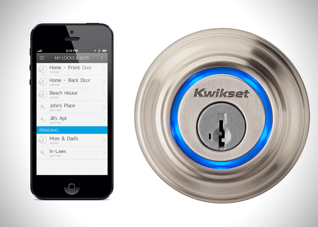 Le Meilleur Kevo Iphone Operated Door Lock Hiconsumption Ce Mois Ci