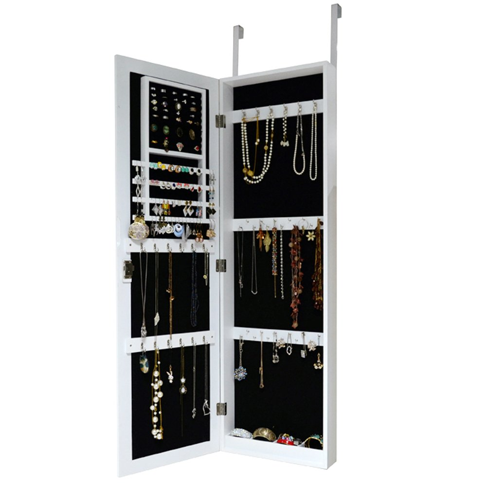Le Meilleur Over The Door Jewelry Armoire Mirror Cabinet Ce Mois Ci
