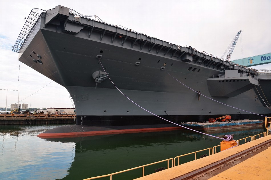 Le Meilleur Us Navy To Christen New Class Of Aircraft Carrier China Ce Mois Ci