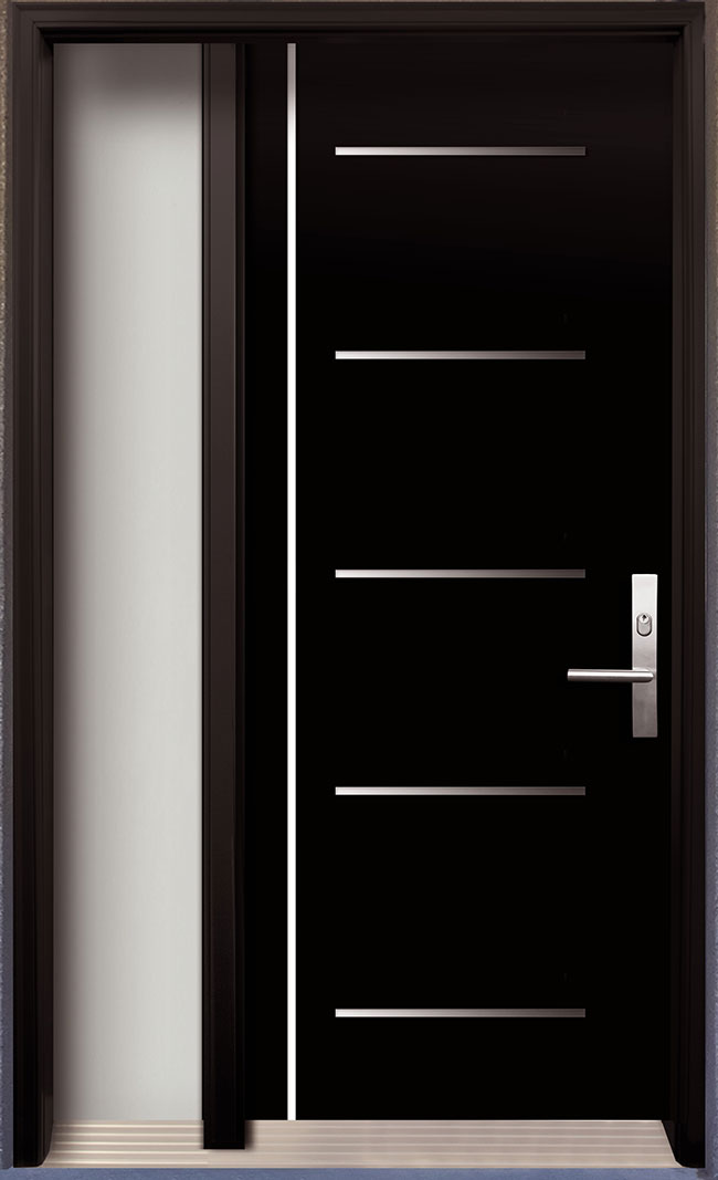 Le Meilleur Modern Contemporary Door Modern Wood Door With Stainless Ce Mois Ci