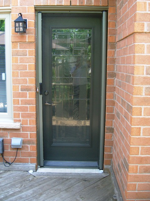 Le Meilleur Entry Door Retractable Screens Contemporain Porte Ce Mois Ci