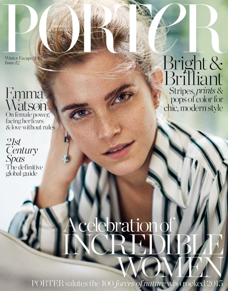 Le Meilleur Emma Watson Model For Porter Magazine Winter 2016 The Ce Mois Ci
