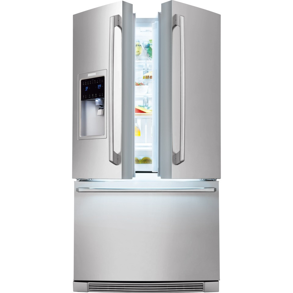 Le Meilleur Ei23Bc35Ks Electrolux 22 6 Cu Ft French Door Ce Mois Ci