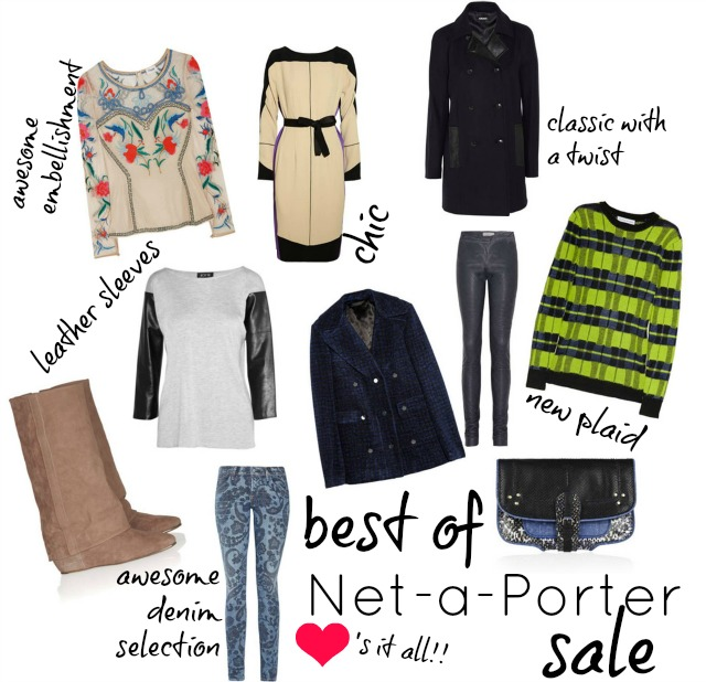Le Meilleur 10 Amazing Finds From The Net A Porter Sale ⋆ Chic Everywhere Ce Mois Ci