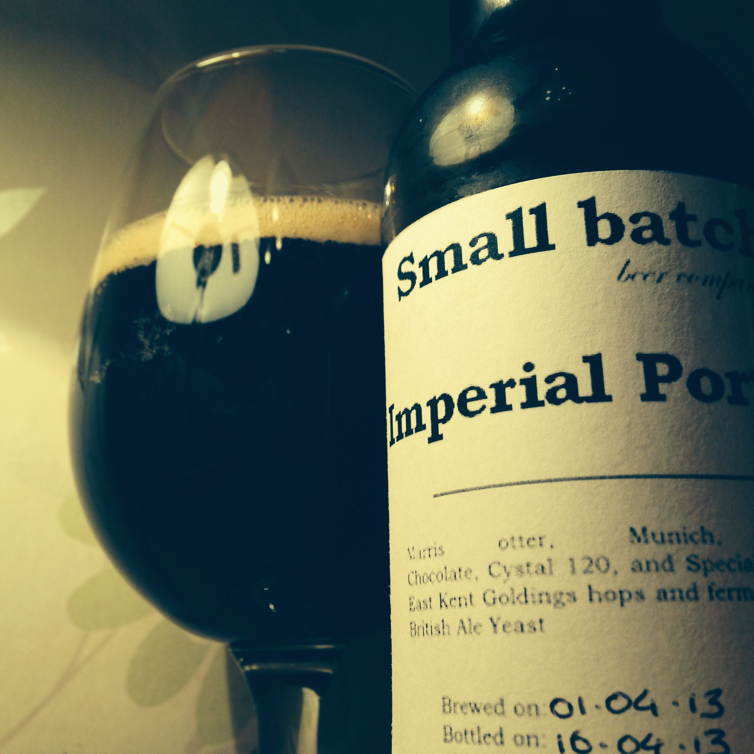 Le Meilleur Small Batch Beer Company Imperial Porter 8 2 Camrgb Ce Mois Ci