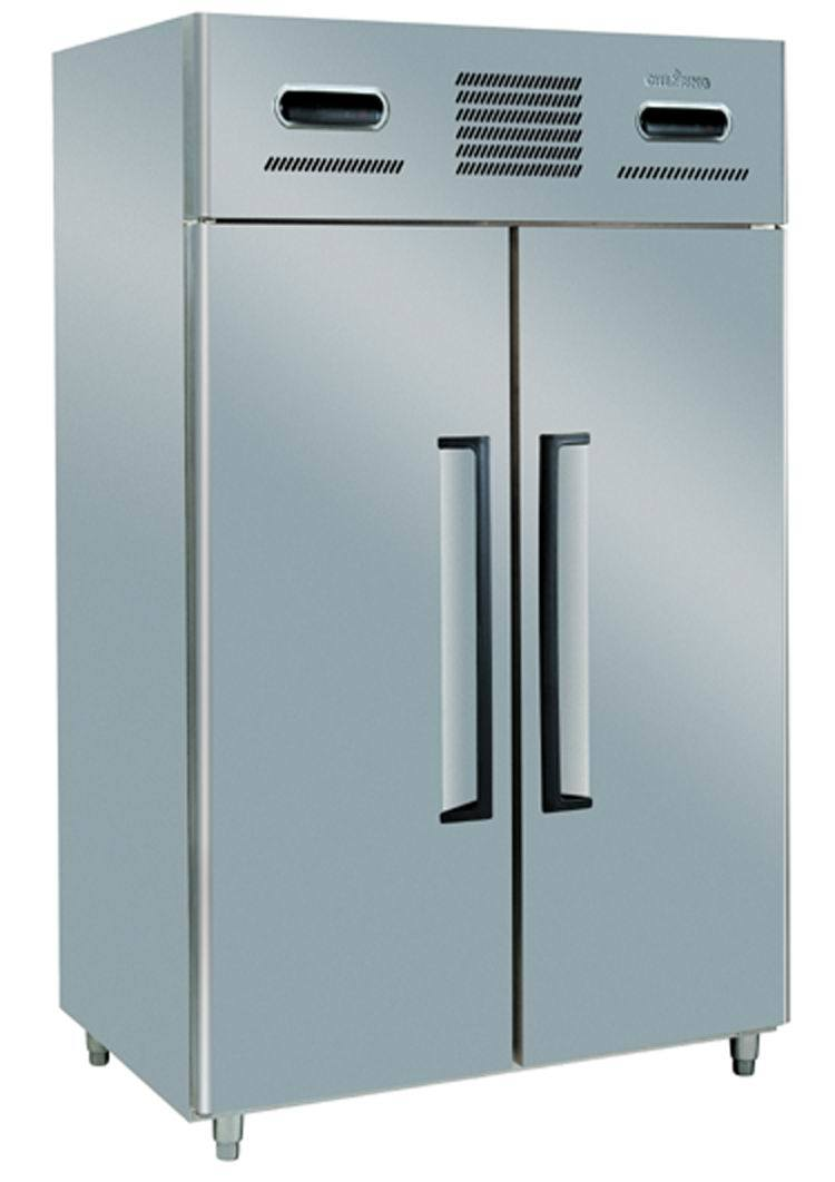 Le Meilleur China 2 Door 2 Temp Stainless Steel Commercial Ce Mois Ci