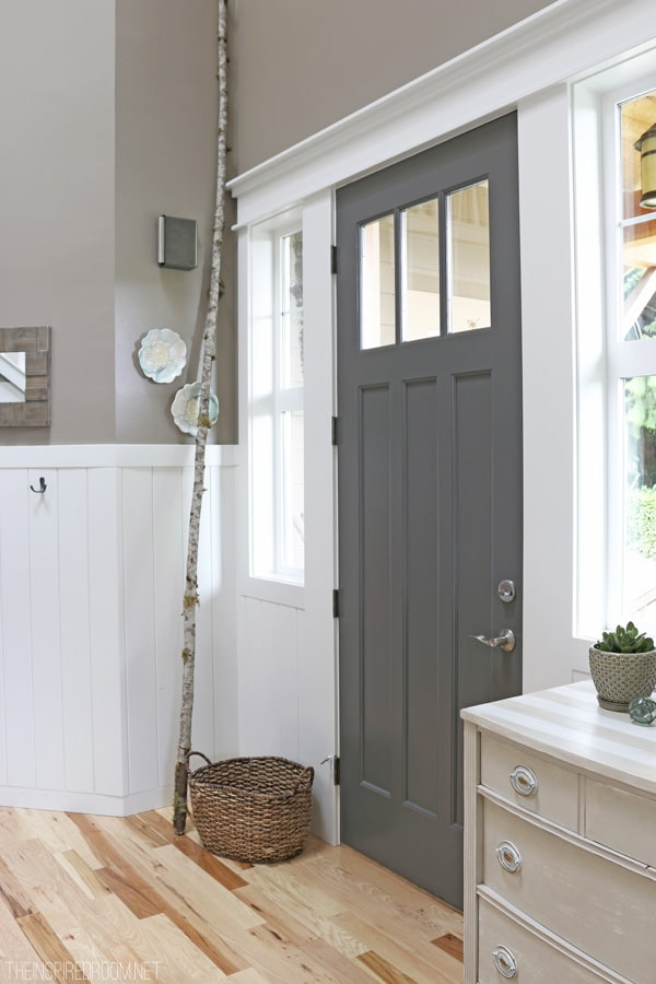 Le Meilleur Front Door Refresh The Inspired Room Ce Mois Ci
