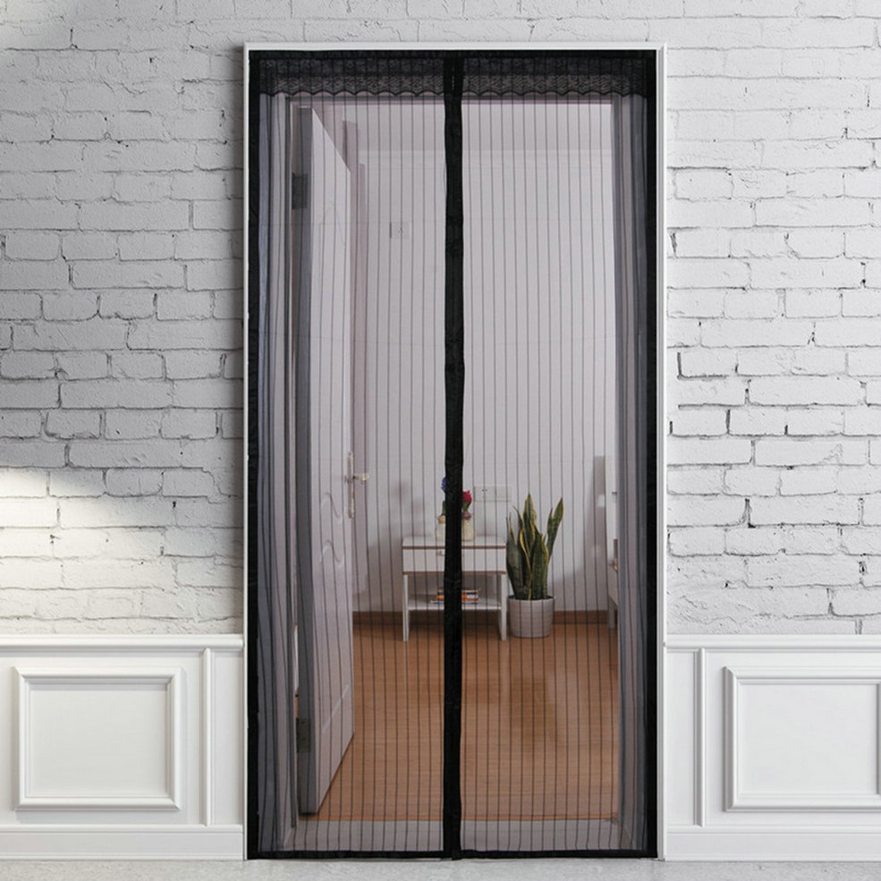 Le Meilleur New Magic Curtain Door Mesh Magnetic Fastening Hands Free Ce Mois Ci