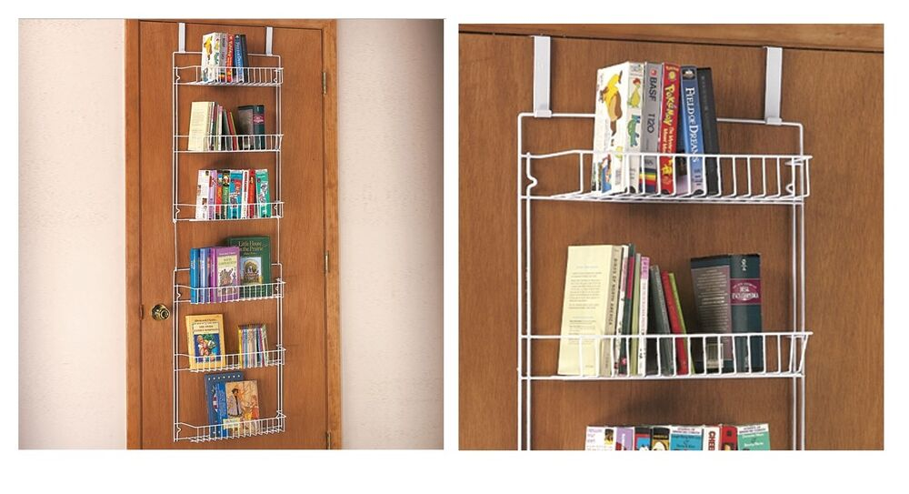 Le Meilleur Over The Door Storage Rack For Extra Storage Of Books Or Ce Mois Ci