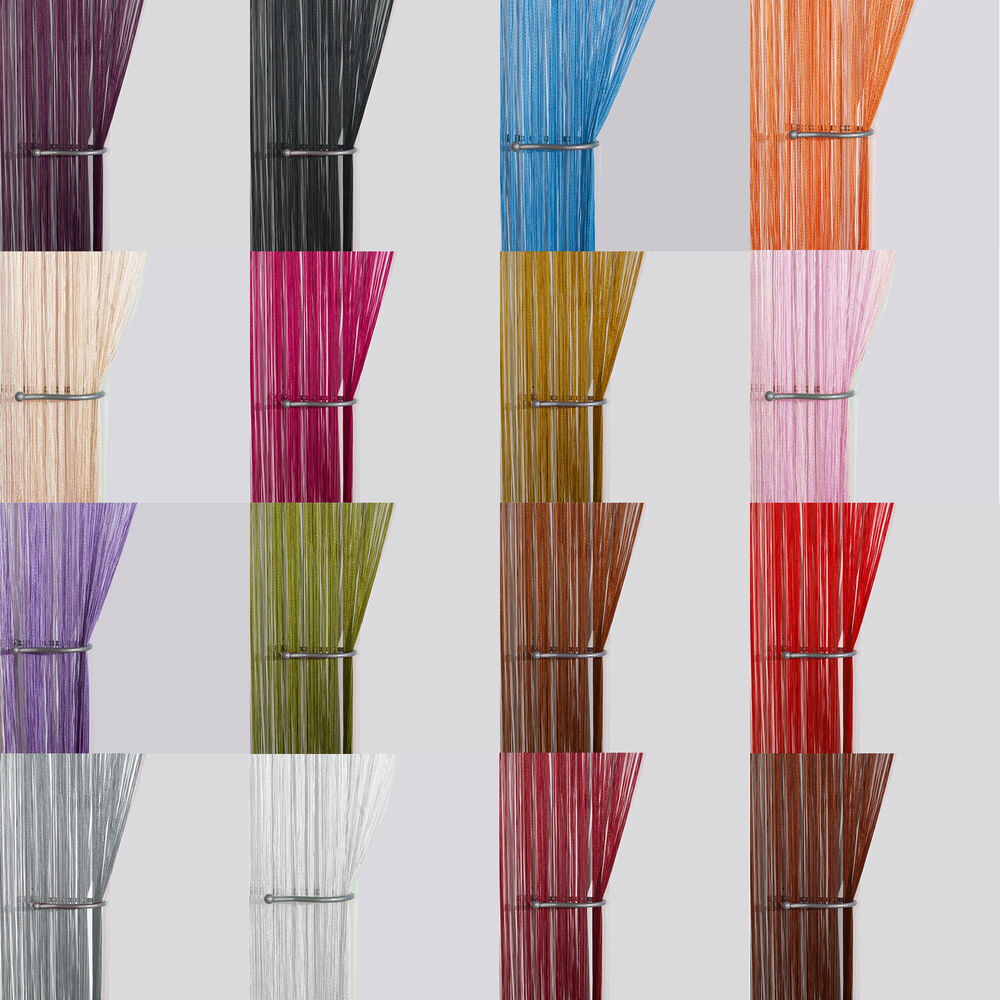Le Meilleur String Curtain Panels Door Fly Screen Room Divider Ce Mois Ci