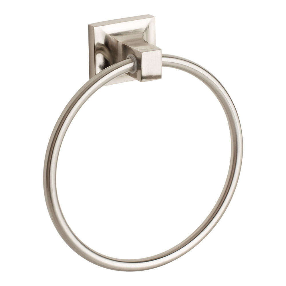 Le Meilleur Brushed Nickel Towel Ring Holder Hanger Bathroom Hardware Ce Mois Ci