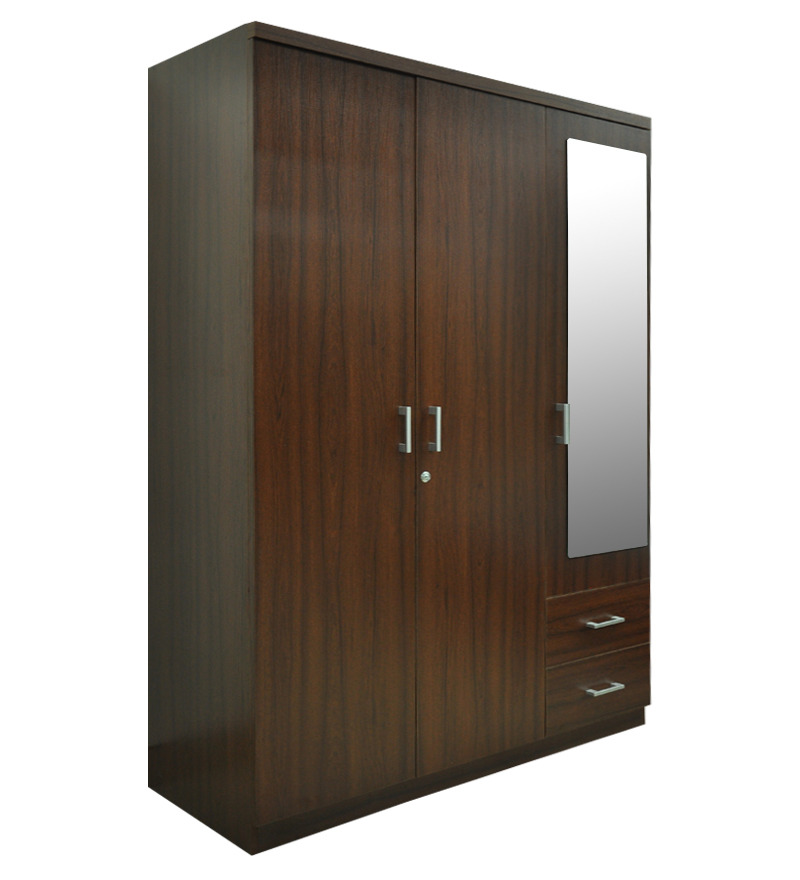 Le Meilleur 3 Door Value Wardrobe With Mirror By Spacewood By Ce Mois Ci