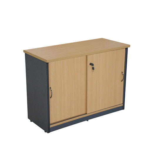 Le Meilleur Credenza Sliding Door Lockable Storage Cupboad Buffet Ce Mois Ci
