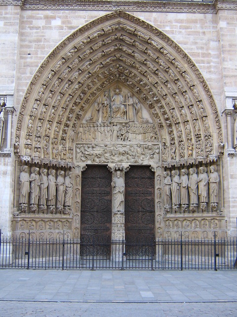 Le Meilleur Notre Dame Door Without People Flickr Photo Sharing Ce Mois Ci