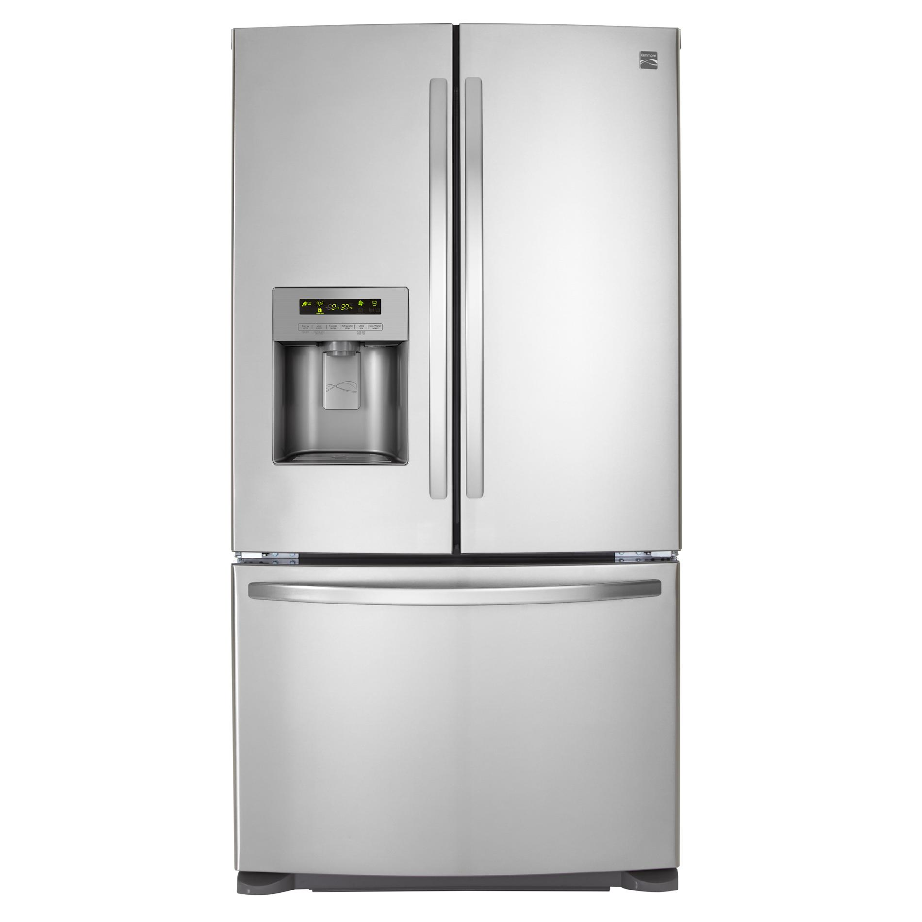 Le Meilleur Kenmore 70323 24 1 Cu Ft French Door Bottom Freezer Ce Mois Ci