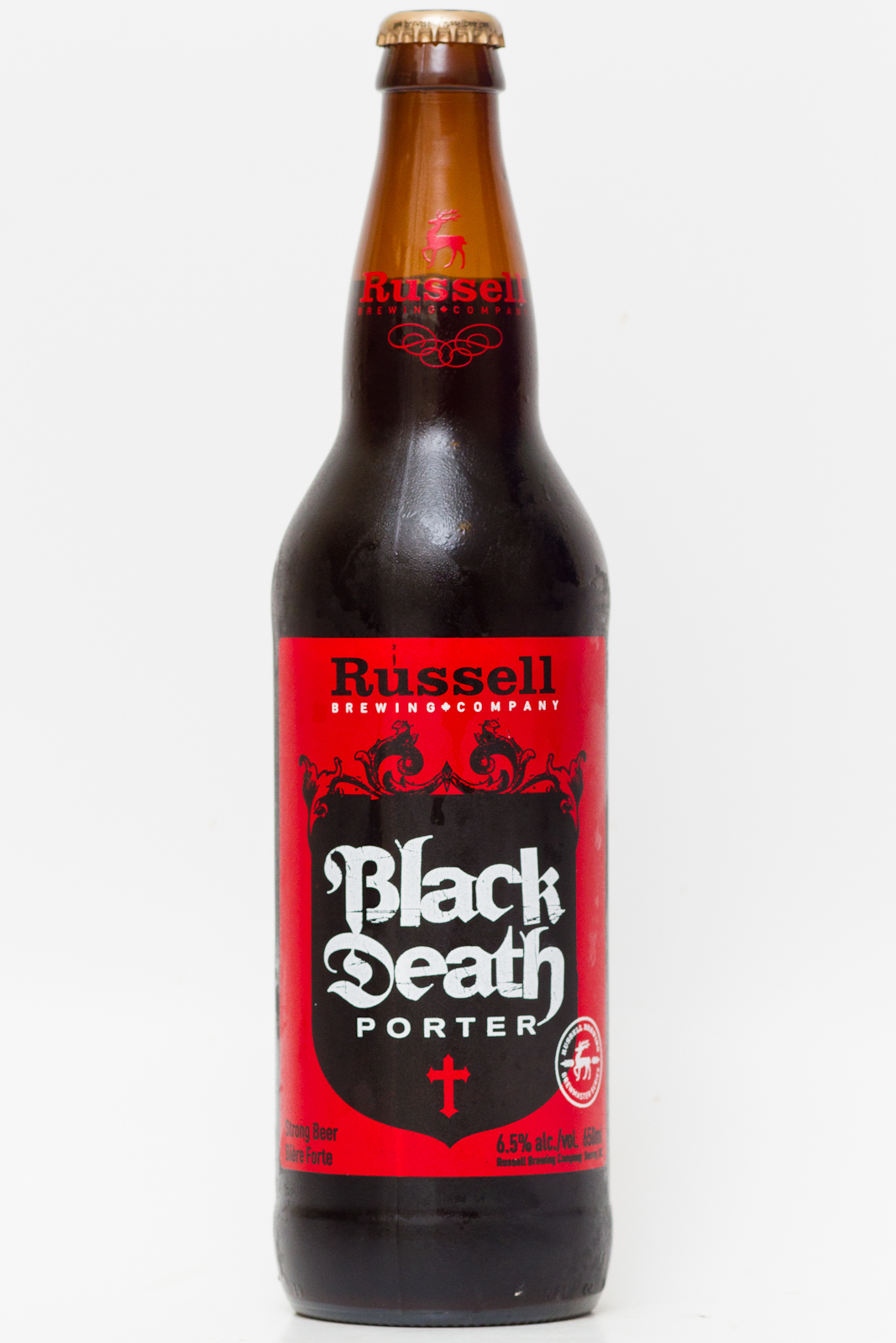 Le Meilleur Russell Brewing Co – Black Death Porter Beer Me British Ce Mois Ci