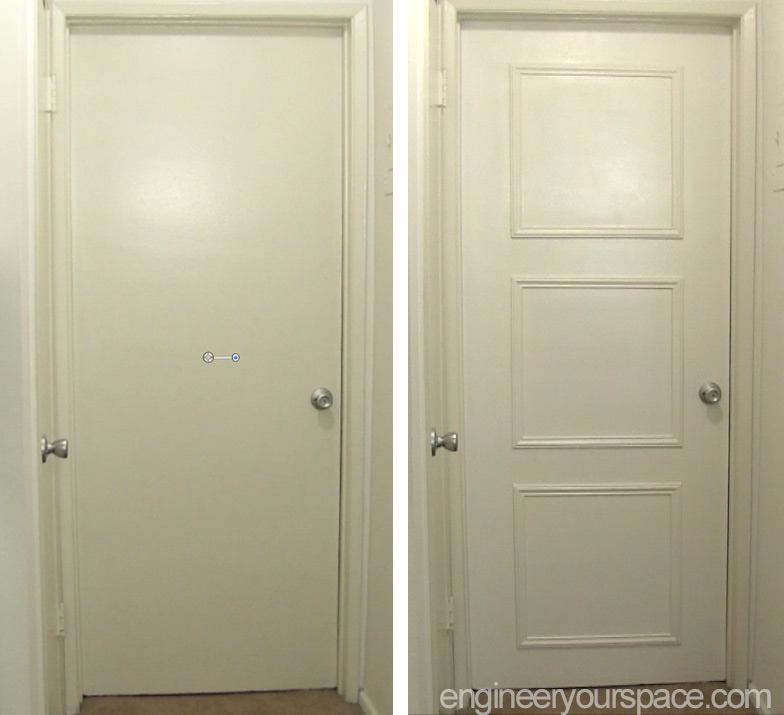 Le Meilleur Easy Door Upgrade With Moulding Smart Diy Solutions For Ce Mois Ci