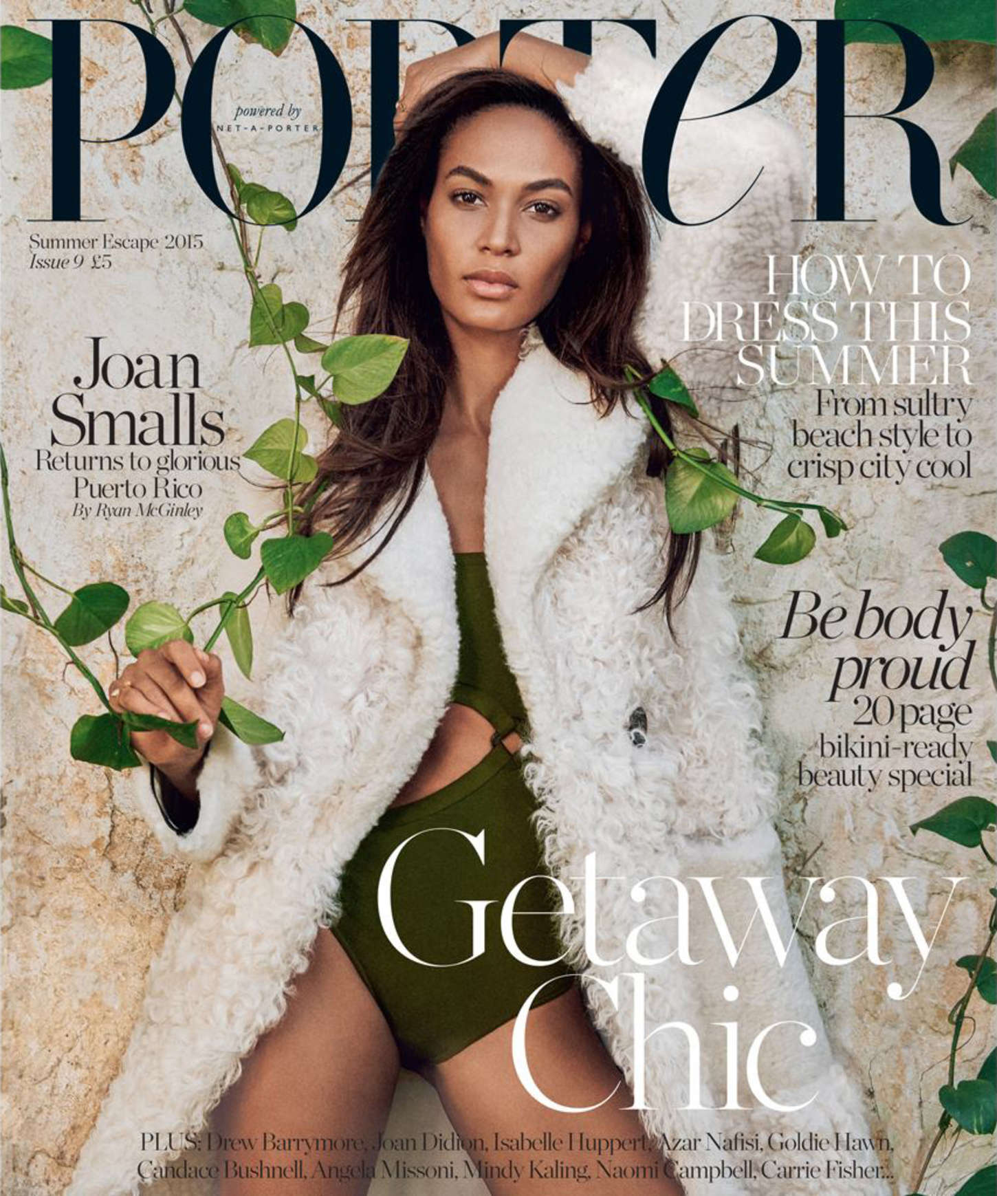 Le Meilleur Joan Smalls Porter Magazine Summer Escape 2015 Ce Mois Ci