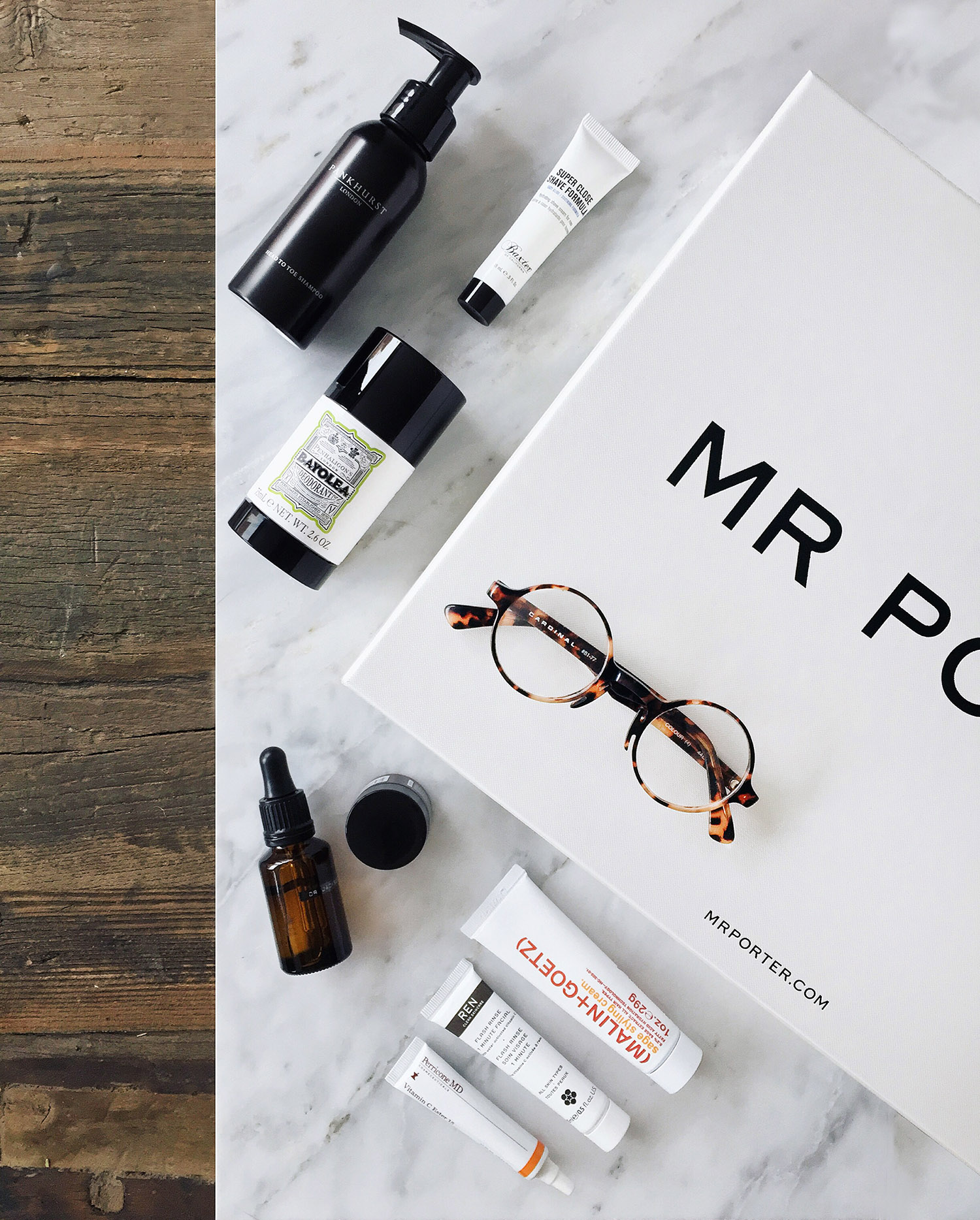 Le Meilleur Mr Porter's Grooming Kit – Mr Essentialist Ce Mois Ci