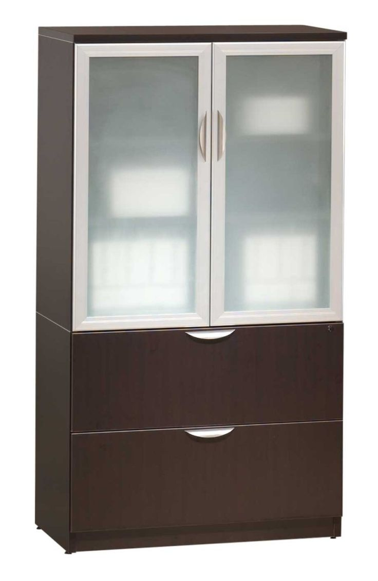 Le Meilleur Wood Storage Cabinets With Glass Doors Home Furniture Design Ce Mois Ci