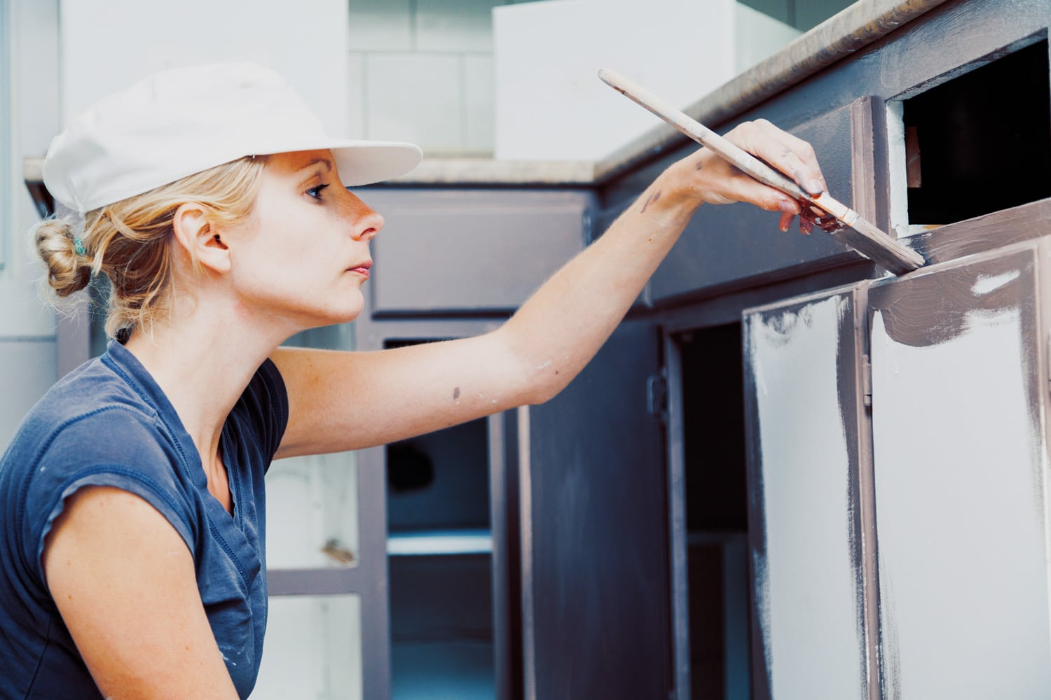 Le Meilleur 9 Tips For Painting Kitchen Cabinets The Paint People Ce Mois Ci