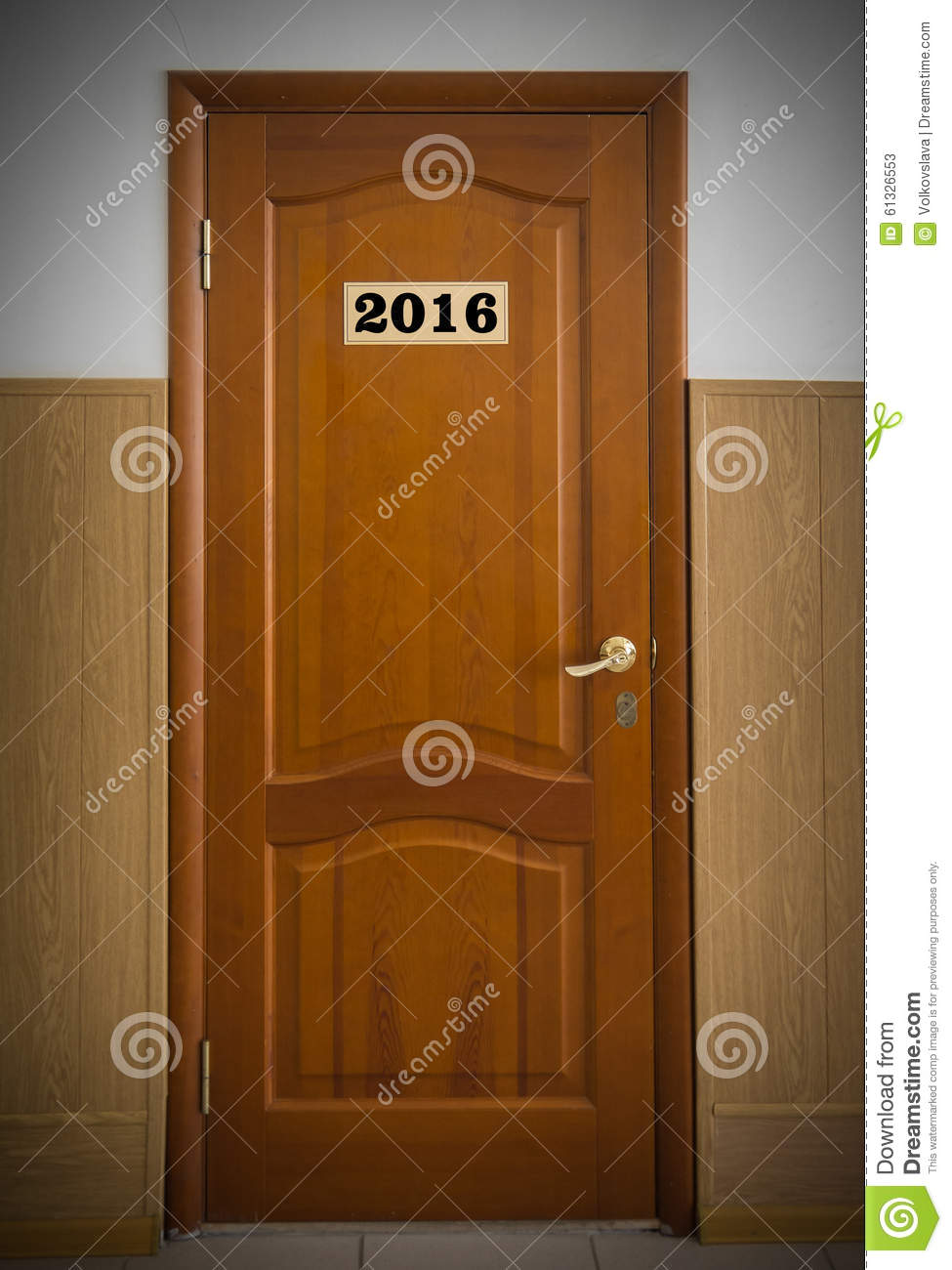 Le Meilleur Closed Wooden Office Door With Number 2016 Stock Image Ce Mois Ci