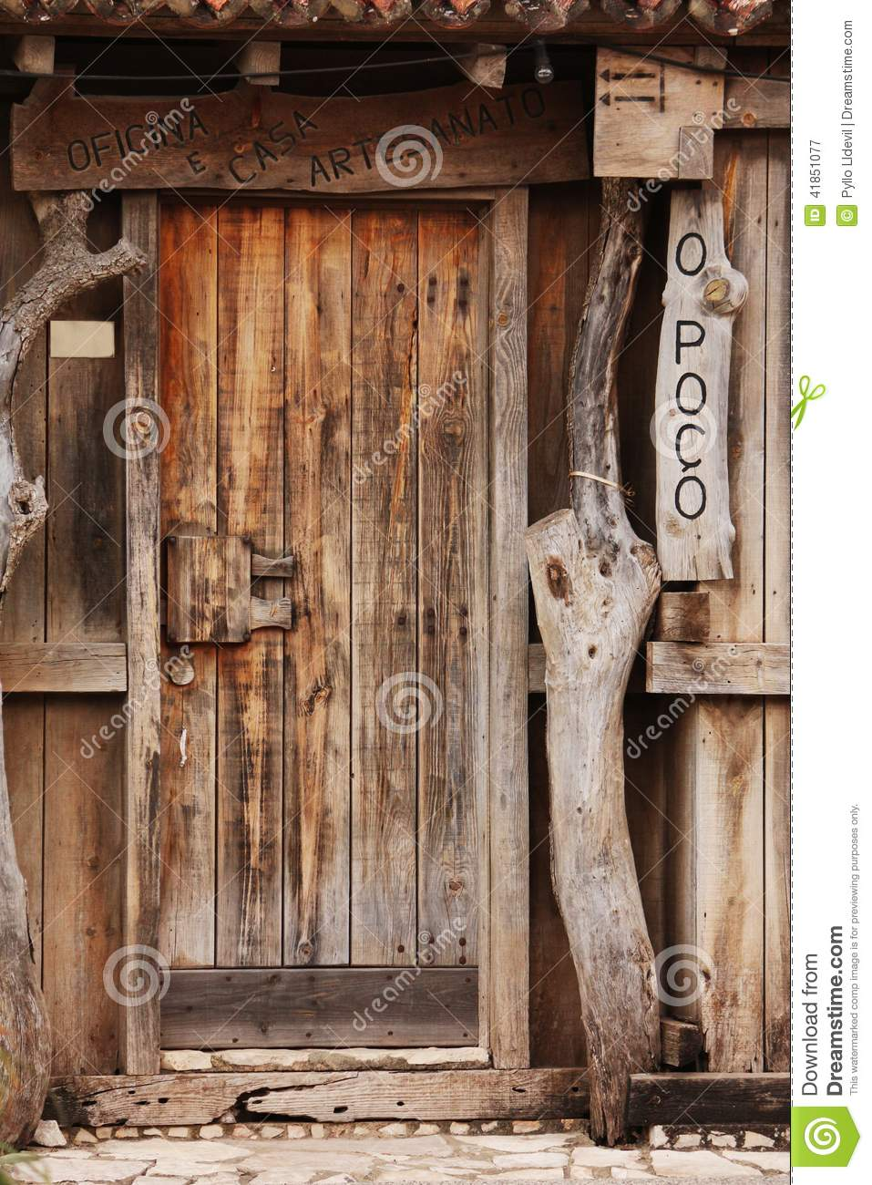 Le Meilleur Old Door Stock Image Image Of Historic Collect Landmark Ce Mois Ci
