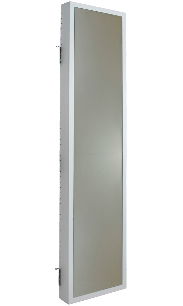 Le Meilleur Mirrored Cabinet Hinge Mounted In Behind The Door Storage Ce Mois Ci