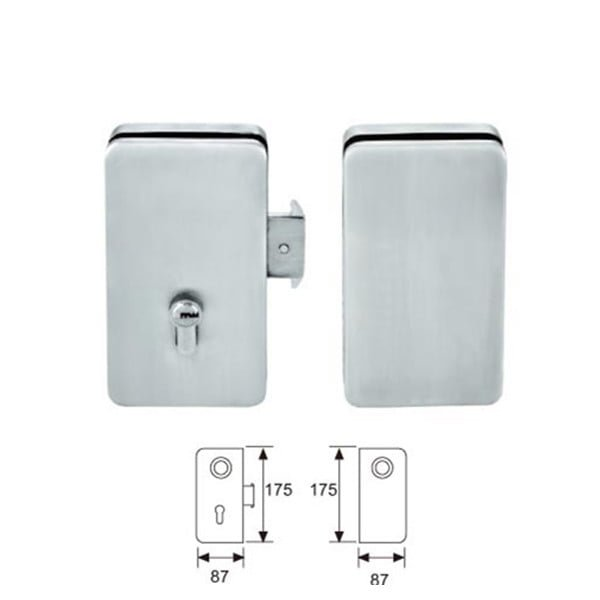 Le Meilleur Sliding Glass Door Latch Glass Door Lock Without Drilling Ce Mois Ci