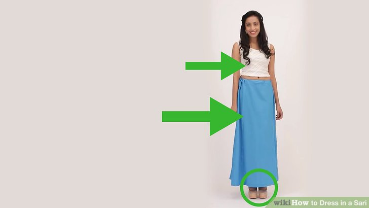 Le Meilleur 3 Ways To Dress In A Sari Wikihow Ce Mois Ci