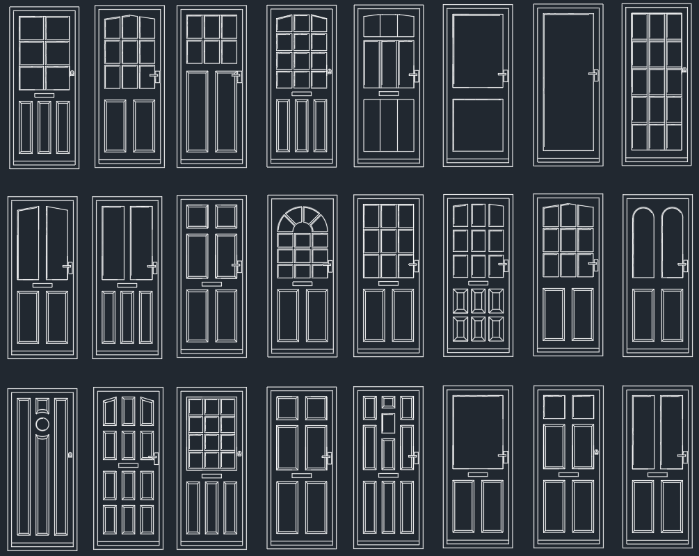 Le Meilleur Door Plan Cad Block Free Cad Blocks And Cad Drawing Ce Mois Ci