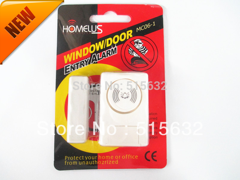 Le Meilleur New Improved Version Loud Window Door Entry Alarm Wireless Ce Mois Ci