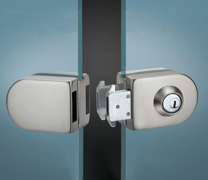 Le Meilleur Sliding Central Glass Door Lock 304 Stainless Steel No Ce Mois Ci